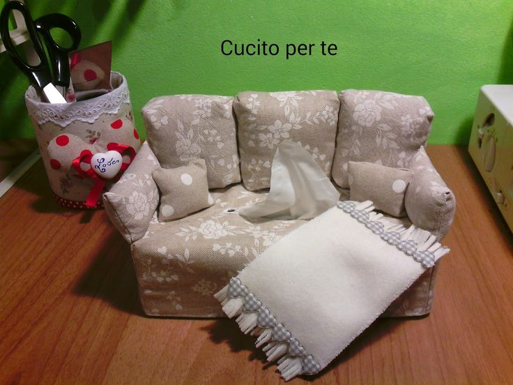 sewing tutorial for kleenex cover ♥