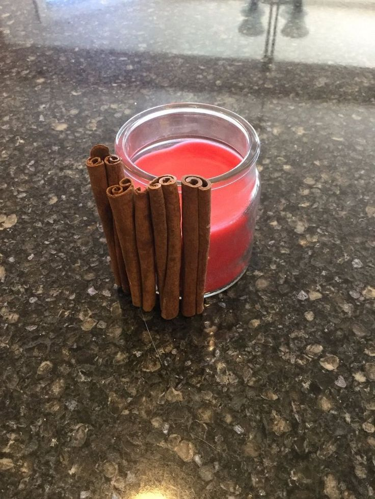 Make Your Own Cinnamon Candles on the Cheap
