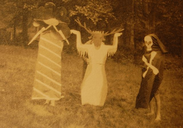 """paganalia: """" The first witches. """""""