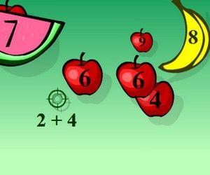 Válassz a 4 erősségi szint között és indulhat is a gyümölcs vadászat. Csak arra célozz amelyik a helyes választ mutatja.