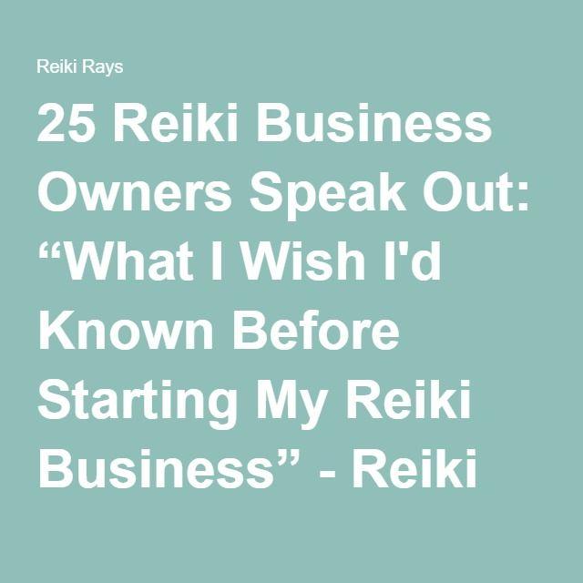 Reiki business plan
