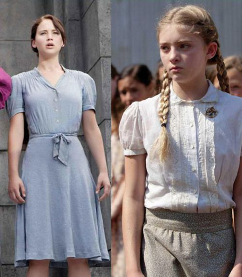 i would like to find a dress like this to possibly wear to a school awards party thats hunger games themed - Primrose Everdeen Halloween Costume