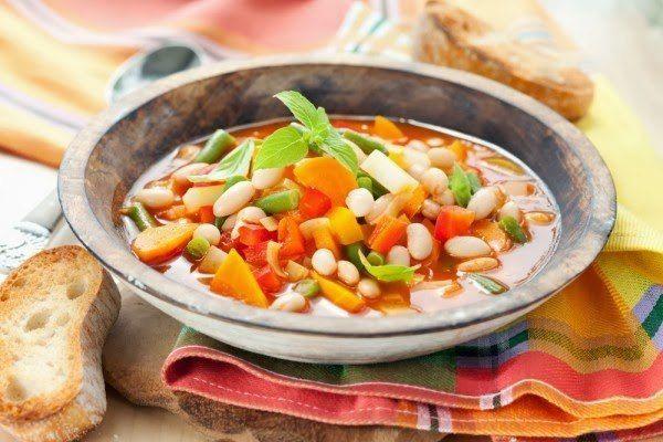"""Еще больше рецептов здесь https://plus.google.com/116534260894270112373/posts  Итальянский суп """"Минестроне"""" - это просто и вкусно!  Минестроне – традиционный итальянский густой суп из свежих овощей. В минестроне принято обязательно использовать стеблевой сельдерей, фасоль, морковь и помидоры. Кроме этих овощей, в суп кладут картофель, лук, кабачки, цуккини, сладкий перец, капусту, спаржу и даже баклажаны. Любителям овощей здесь полное раздолье!  Ингредиенты для приготовления """"Минестроне"""" с…"""