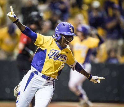 BATON ROUGE, La. – After using a walk-off hit to earn a victory in the midweek contest, the No. 12 LSU softball team rallied to do the same in the series opener against No. 16 Georgia Friday, this time coming from the bat of Constance Quinn to give the Tigers a 4-3 win at Tiger Park.