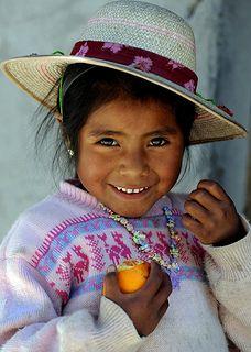 Aymara girl | Chile