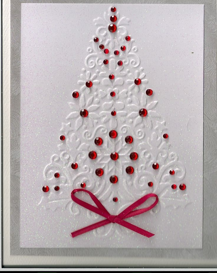 Christmas card ideas from last year   Jega's Scrappin' using a Cuttlebug and a few embellishments.Notice the glitz powder.