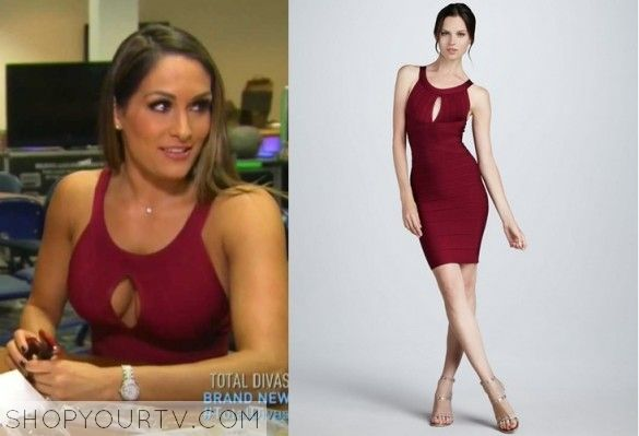 Wwe total divas season 3 episode 12 nikki 39 s key hole dress tv show fashion style and clothes - Fashion diva tv ...