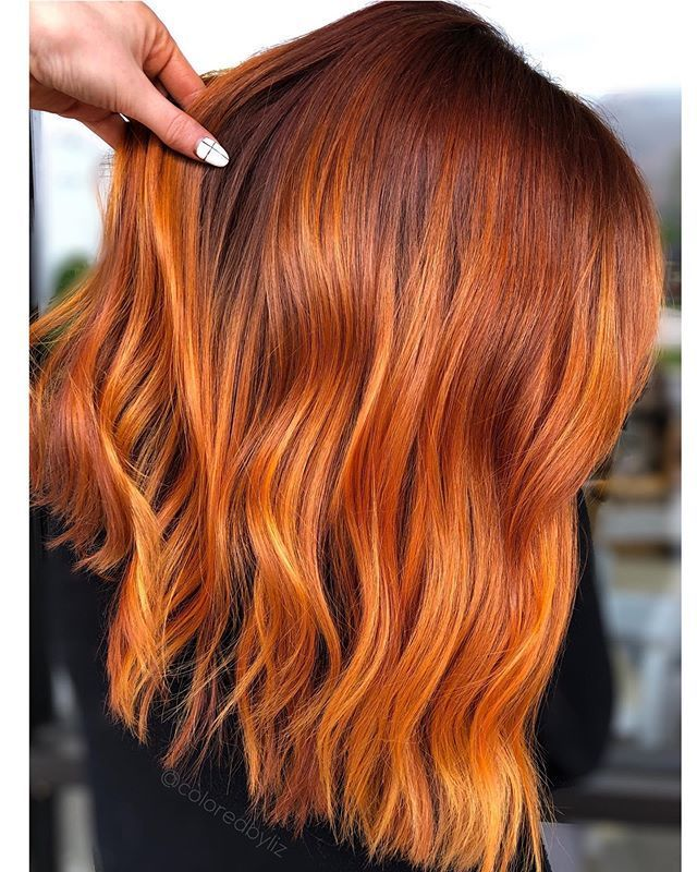Liz Cook Color Specialist On Instagram Spring Spice Pulpriothair Faction8 5 8 Into 6 4 With 8 34 44 O In 2020 Copper Hair Color Copper Balayage Ginger Hair