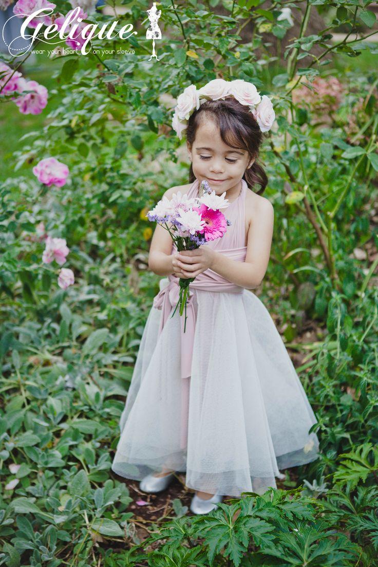 Gelique Convertible flowergirl dress  http://www.geliqueonline.com/
