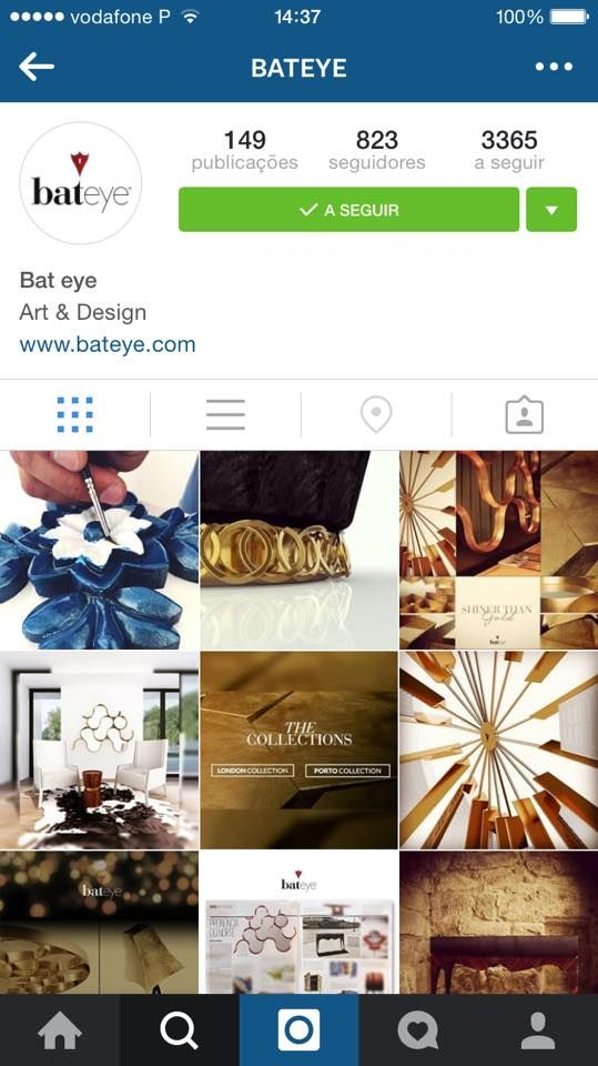Follow us on Instagram http://bateye.com/