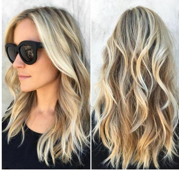 frisuren langes haar (mit bildern) | dauerwellen lange