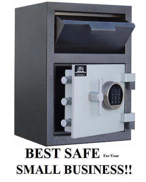 Mesa MFL2014e Heavy-Duty Depository Drop-Door Cash Safe