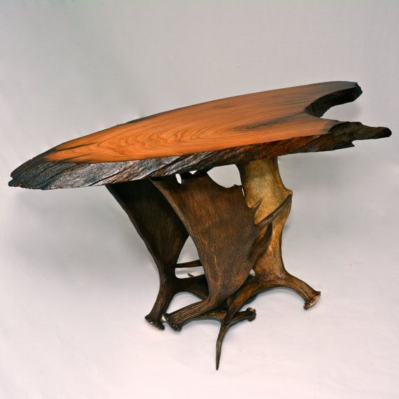 18 Best Antler Tables Images On Pinterest