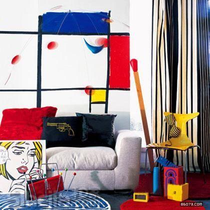 Pop Art Decoration Living Room