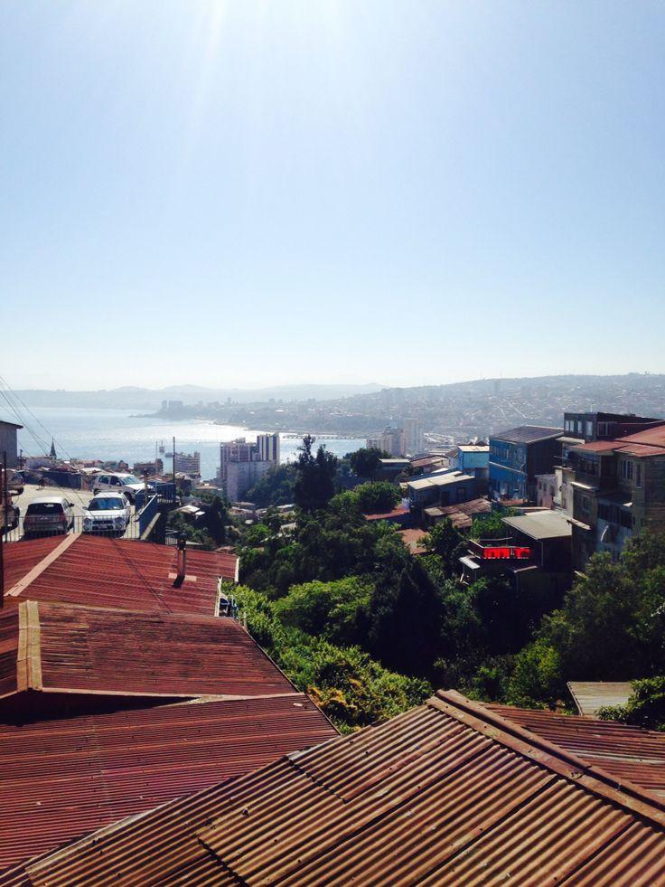 Cerros Valparaiso chile puerto