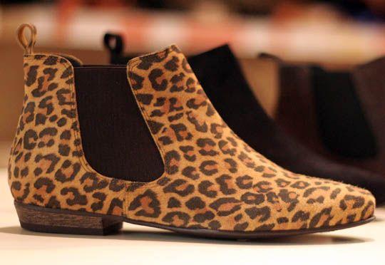 Boots léopard