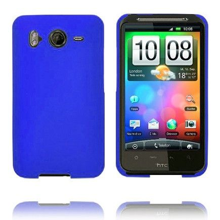 Hard Shell (Sininen) HTC Desire HD Suojakuori