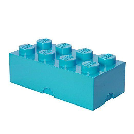 Room Copenhagen RC40041743 Lego Storage Brick 8er azur, blau