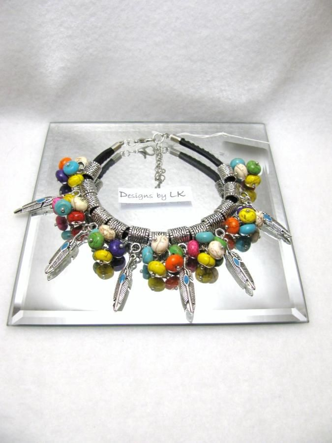 Indian Summer - Jewelry creation by Linda Foust