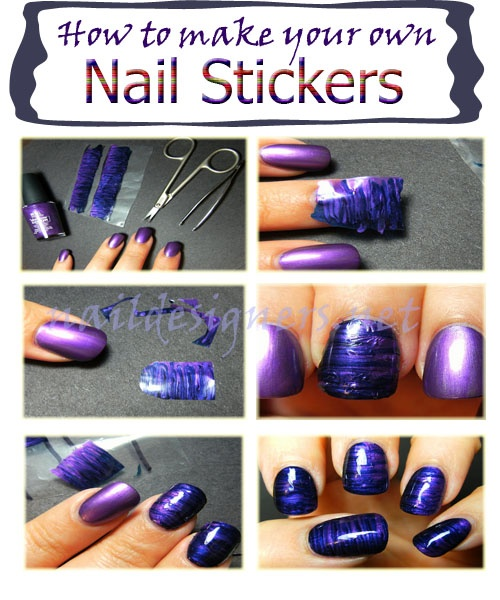 Best Stamps Marble Stickers Images On Pinterest - How to make nail decals at home