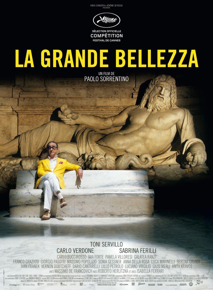 """""""Un bilan de vie déprimant : vacuité, médiocrité et hypocrisie. Face à ce festival de futilité humaine, Paolo Sorrentino cherche la beauté."""" Teddy ★★★★★★★★☆☆ >> http://www.leblogducinema.com/critiques/critique-drame/la-grande-bellezza/ #LBDC #Cinema #Critique"""