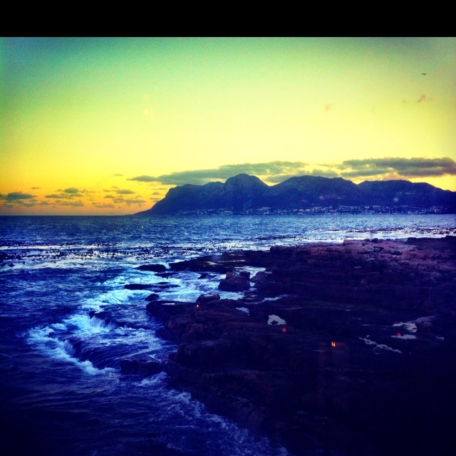 Kalk Bay Sunset. Capetown SA.