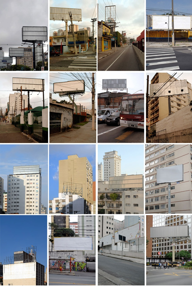 """In September 2006, the mayor of São Paulo passed a """"Clean City Law,"""" which essentially banned all messages on the surfaces of buildings, buses, shops, taxis and even private homes.     Almost seven years later, have all the businesses in São Paulo gone under? Hardly. In fact, good regulation encourages innovation, so as advertisers and marketers were forced to think """"outside the billboard,"""" it was an opportunity to tap into better, more creative ideas."""