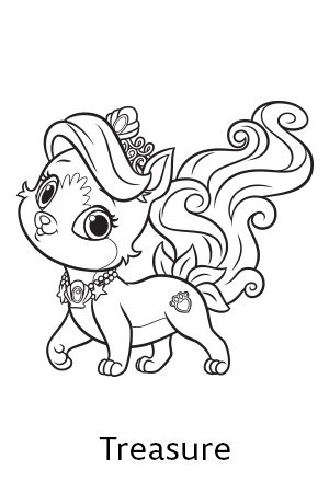 disneys princess palace pets free coloring pages and printables skgaleana - Free Coling