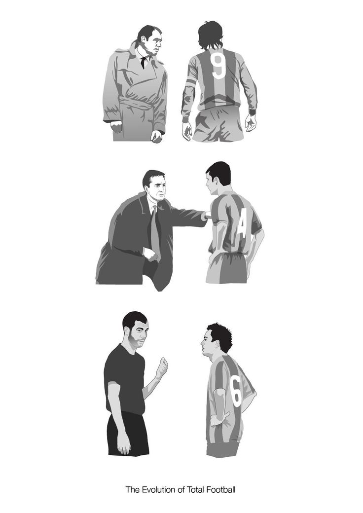 The evolution of Total Football