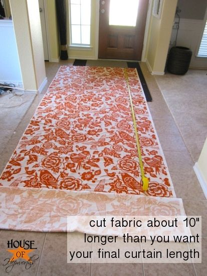 DIY How to make professional lined curtain panels ~This has amazing tips and instructions and is an awesome tutorial on how to sew curtains