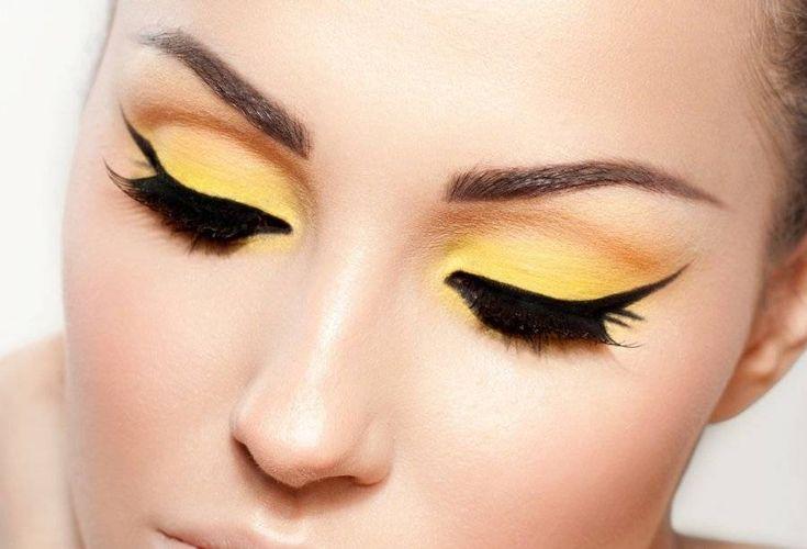 Yellow eyeshadows - makeup Wallpaper