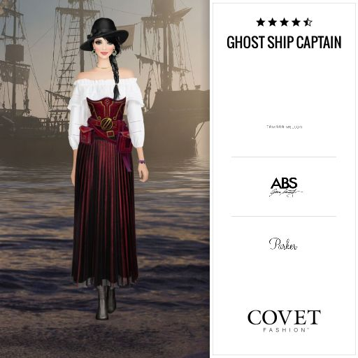 Covet Fashion Daily: Ghost Ship Captain ✨4.70 (4.39 from votes)