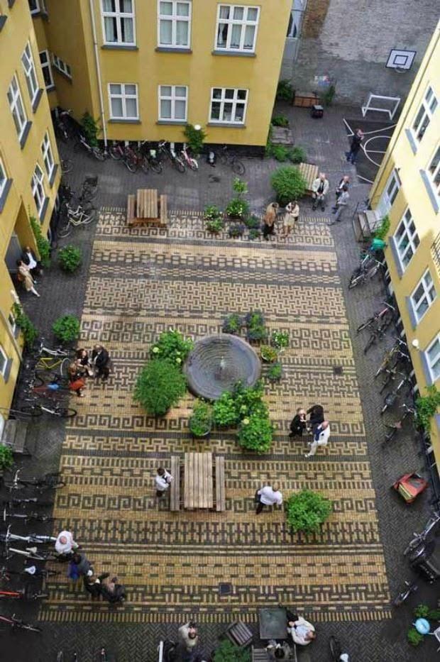 Un patio de vecinos en Copenhage {Classensgade}   Cuidar de tus plantas es facilisimo.com
