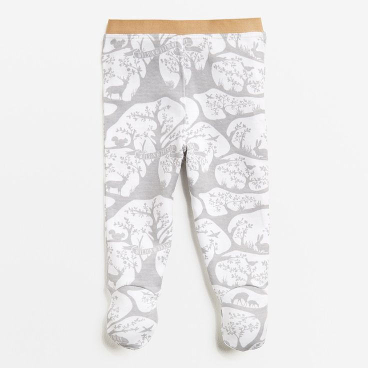 Wilson and Frenchy - Forest Frolic Legging With Feet