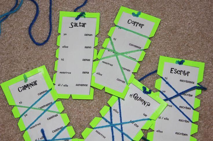 "Verb conjugation ""word wraps"""