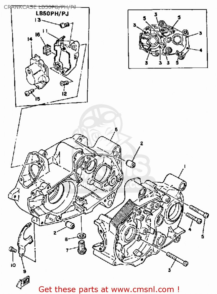Yamaha Chappy Engine Diagram In 2020