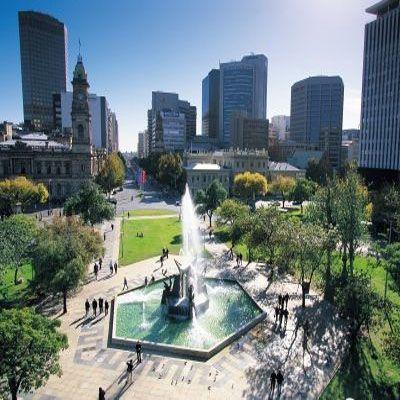 Victoria Square fountain, Adelaide, South Australia