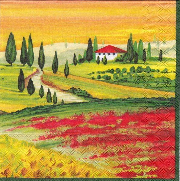Toscana Serviette von Serviette a Porter auf DaWanda.com