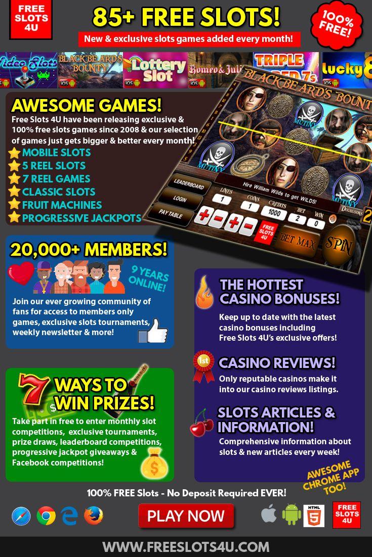 Free Slots 4U Slot Games Free slots, Free online slots