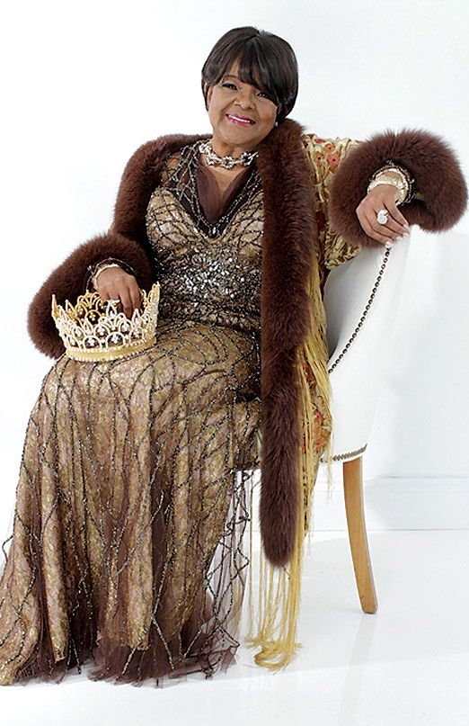 """Shirley Caesar, aka the """"First Lady of Gospel Music,"""" American Gospel music singer, songwriter, recording artist, & pastor. With a career that has spanned over 6 decades, she has won or received 11 Grammys, 13 Stellar Awards, 18 Doves, an Essence Award, McDonald's Golden Circle Lifetime Achievement Award, NAACP Achievement Award, SESAC Lifetime Achievement Award, as well as induction into the Gospel Music Hall of Fame. She also pastors the Mount Calvary Word of Faith Church in Raleigh, NC."""