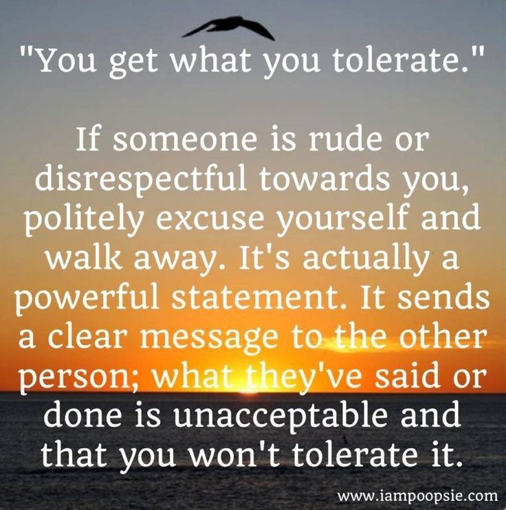 Well said its sad but true ~ especially when others finally see what you have observed the whole time #notolerance