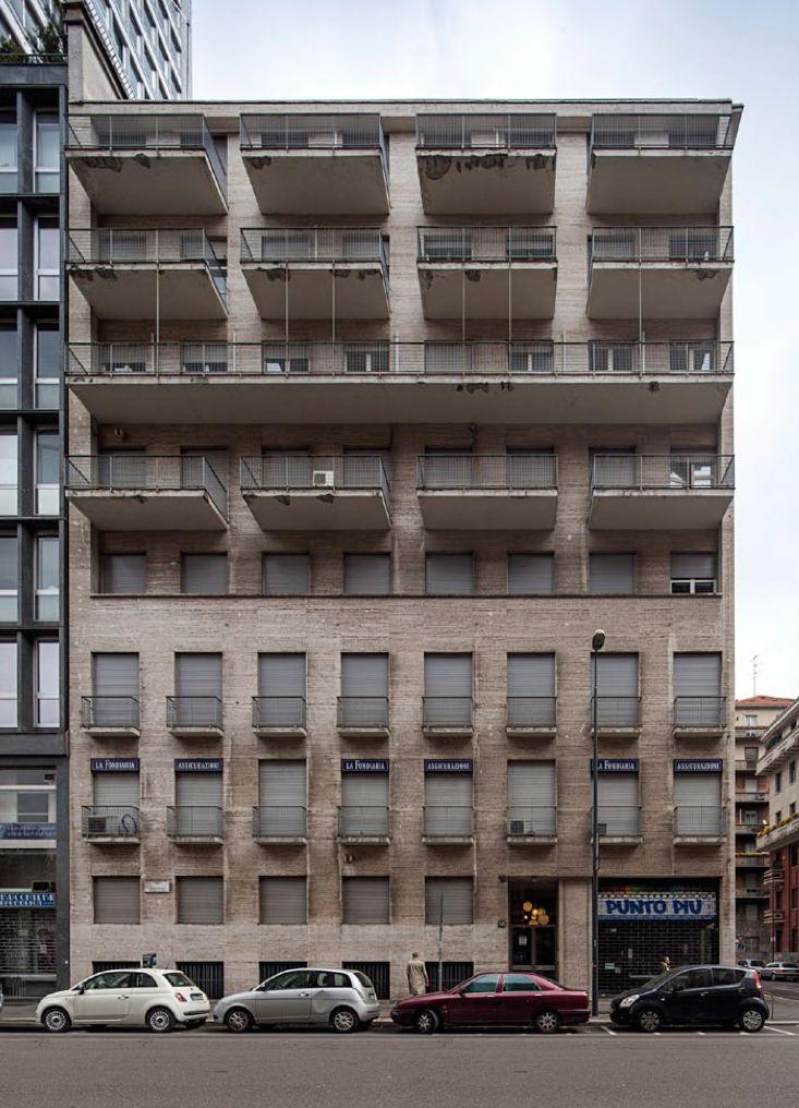 Wohnhaus Milano Via Tunisia 1935_Mario Asnago + Claudio Vender