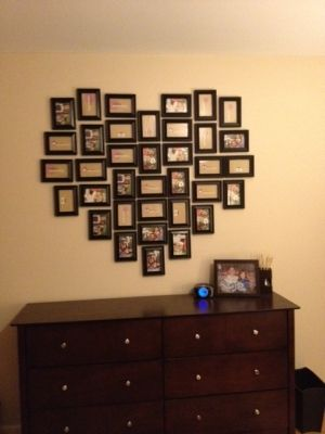 Neat idea, especially for a teenage girl.  Lord knows they have enough pictures to make this :o)