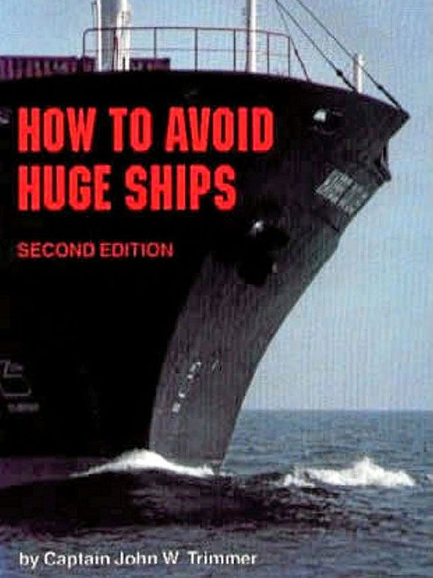 """YARA - The cover above is an example of a literal, ineffective cover that illustrates what the title states exactly. He included the huge boat that's taking over most of the cover and made it appear as if it's leaning towards you; such a description is exactly what the title is stating """"How to Avoid a Huge Ship"""". Such a move reflects the designer's lack of knowledge in the book and how only met the title."""