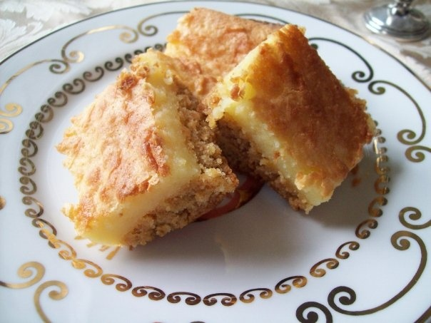 Old Southern favorite. Every Belle knows how to bake these!   Chess Squares