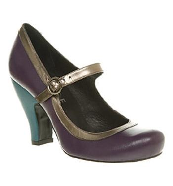 Interesting heel.