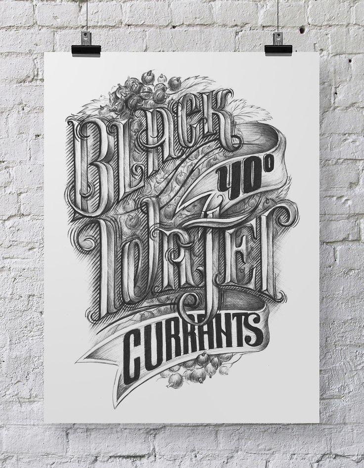 Типографика, HandLettering