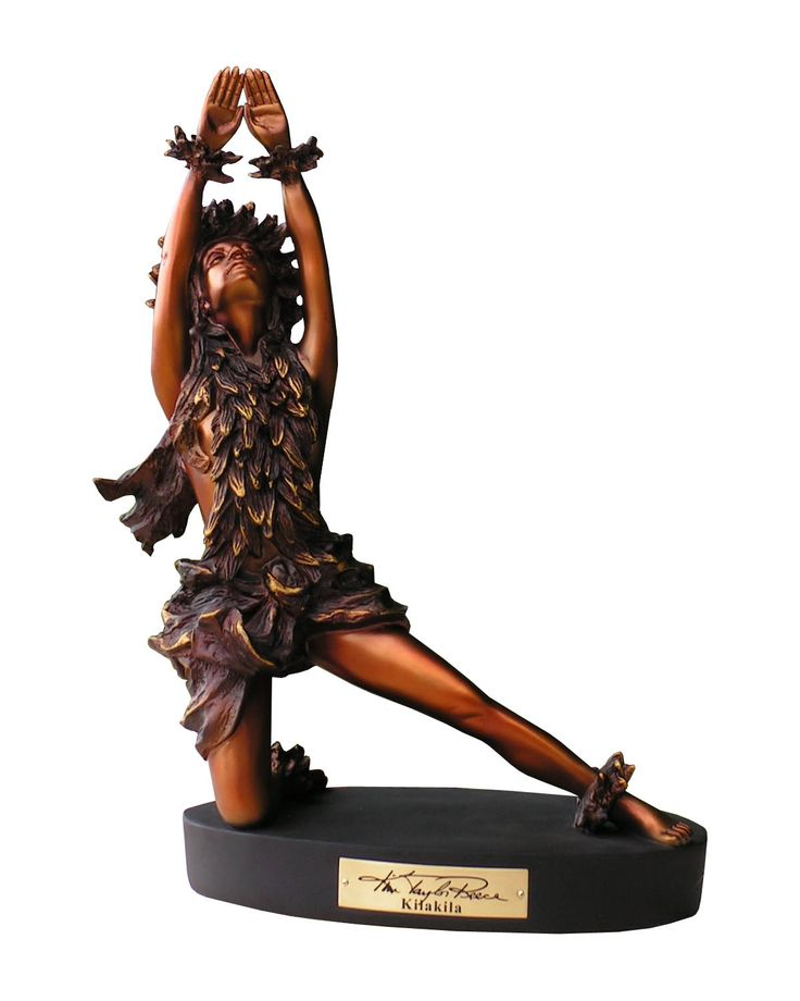 """Kila Kila"" Kim Taylor Reece Cold Cast Statue Collection www.ktrstatues.com"