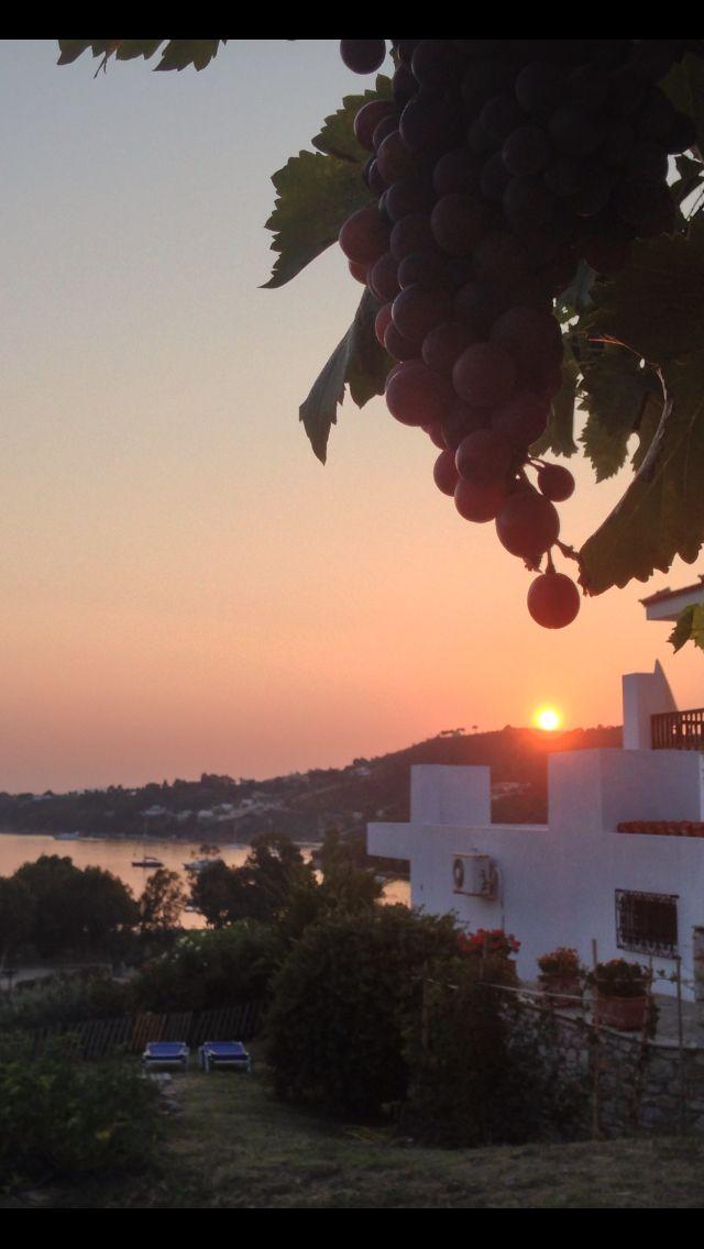 The view from Pandora Villas, Skiathos, Greece