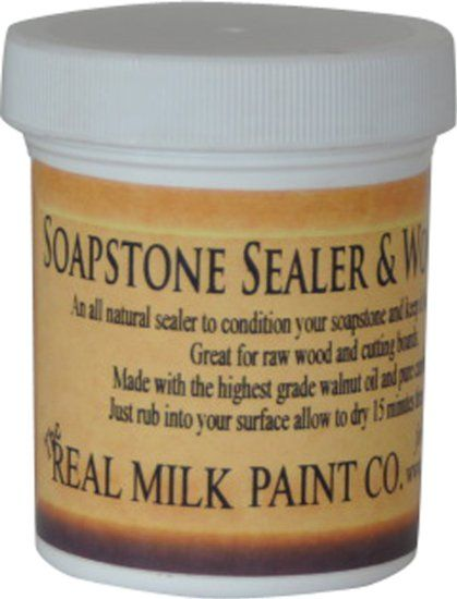 Countertop Paint Sealer : Soapstone Sealer kitchen Ideas Pinterest Milk paint, Soapstone ...